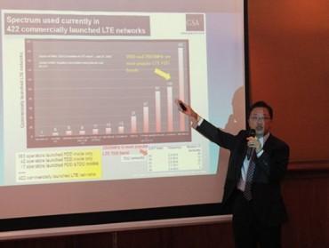 Việt Nam đang lợi thế hưởng lợi công nghệ mới nhất của 4G