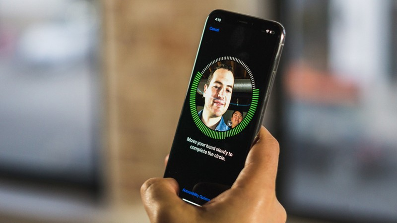 cach thiet lap them nguoi dung face id tren ios 12