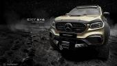 Mercedes X-Class độ 6 bánh siêu hầm hố chinh phục mọi cung đường off-road