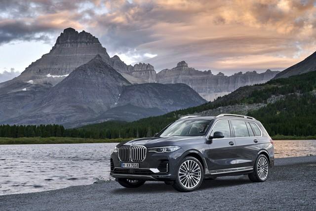 Ra mắt BMW X7 2019 hoàn toàn mới với thiết kế mạnh mẽ, sang trọng