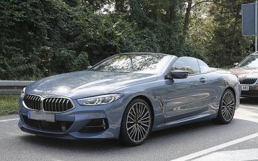 Sắp trình làng mẫu BMW 8-Series Convertible mui trần