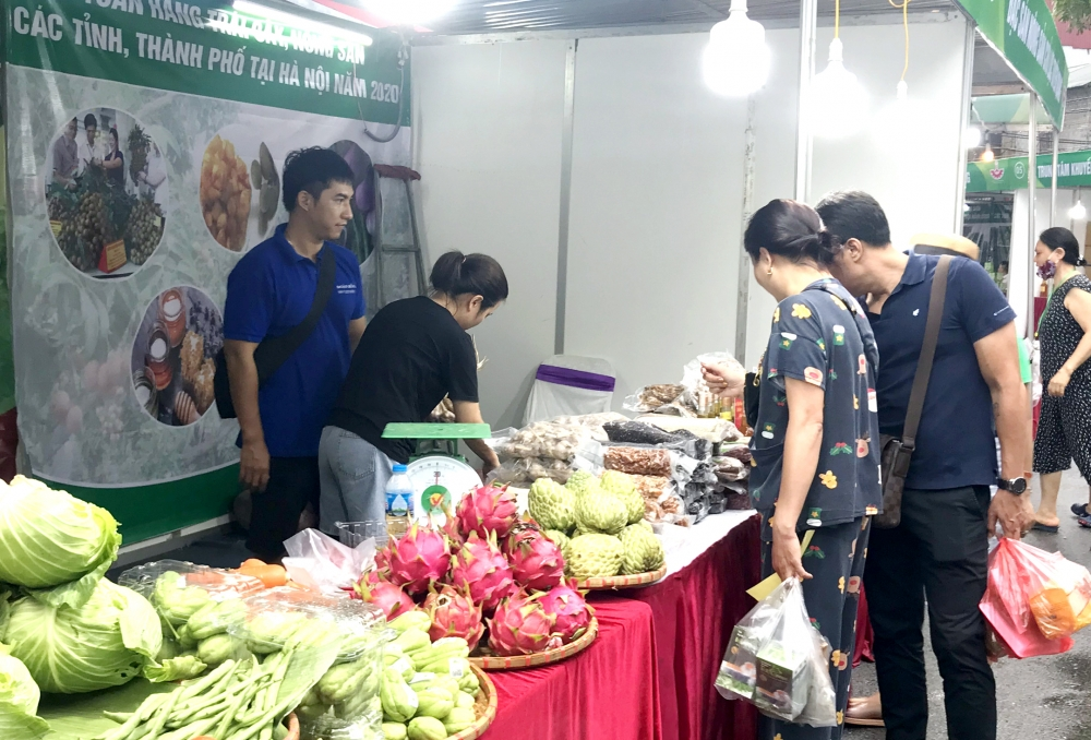 Tuần hàng nông sản Hà Nội: Tăng cường kết nối cung, cầu
