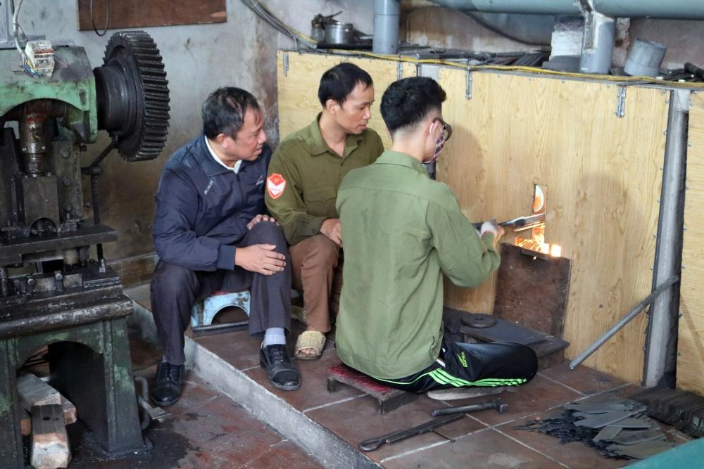 An toàn lao động ở làng nghề Đa Sỹ