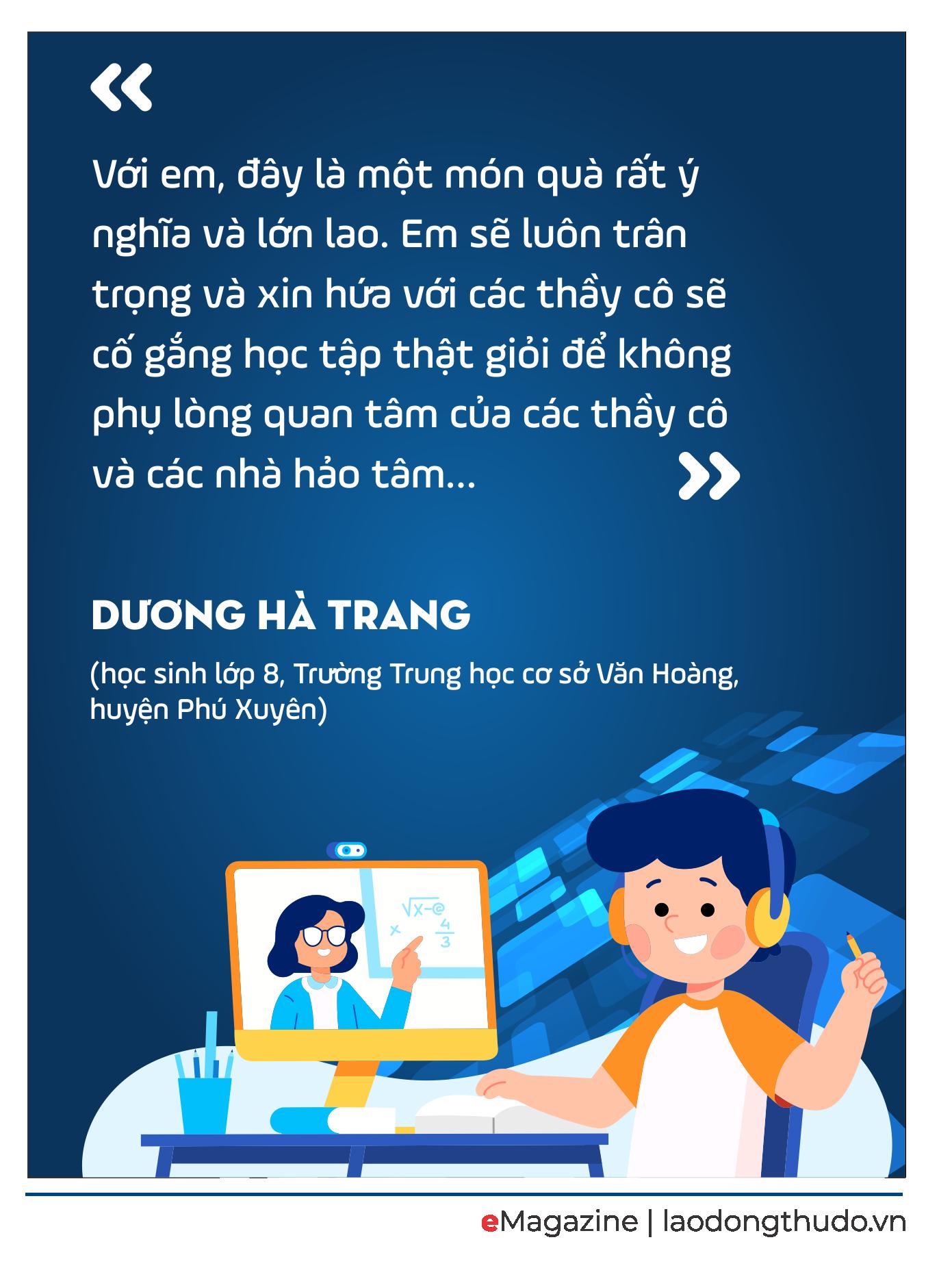 """Mang """"sóng"""" tri thức đến với học sinh khó khăn"""