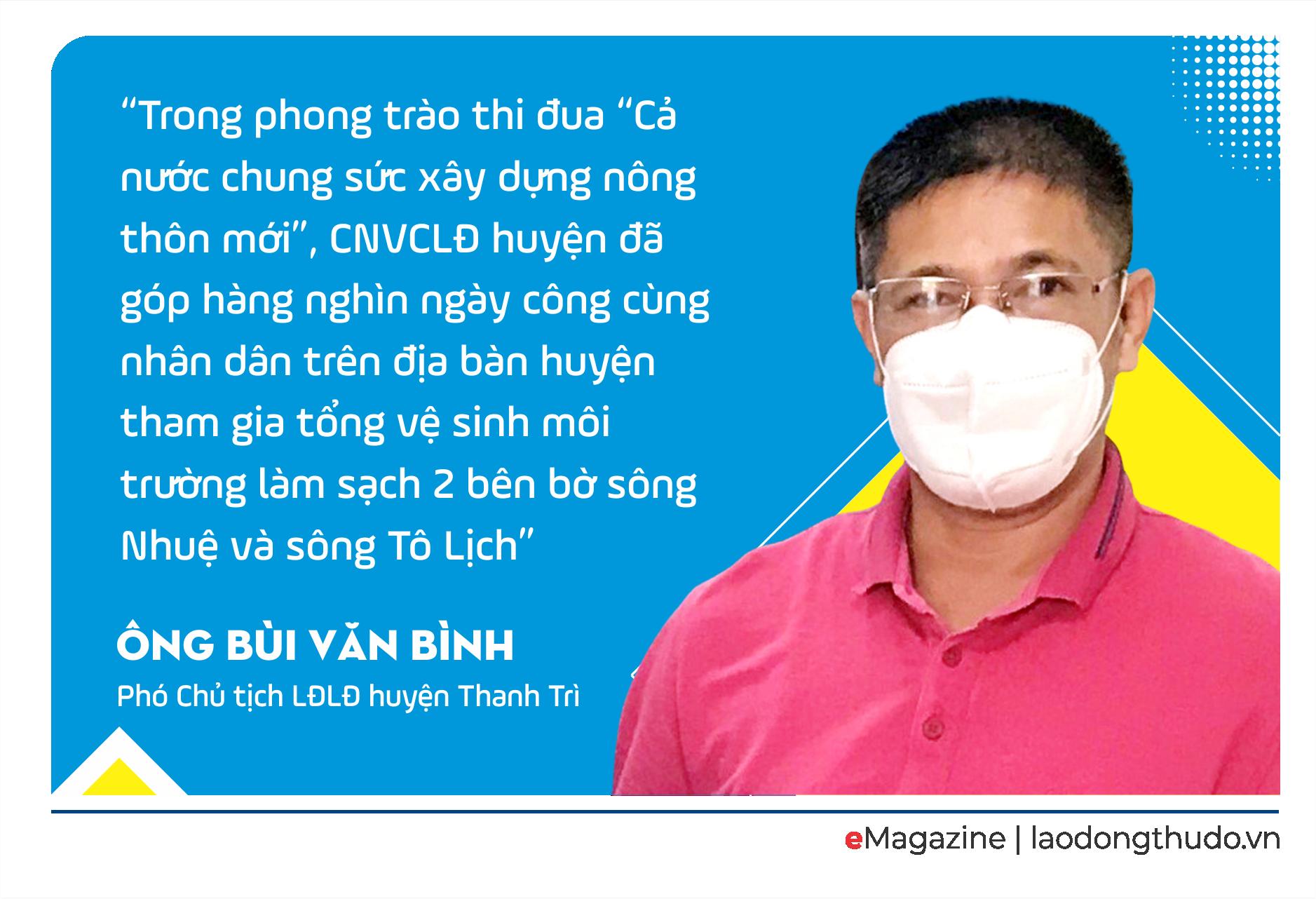 Công nhân lao động huyện Thanh Trì: Sáng tạo và hội nhập