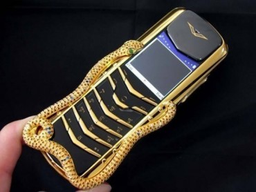 Những chiếc điện thoại giá chục tỷ đồng trông như thế nào?