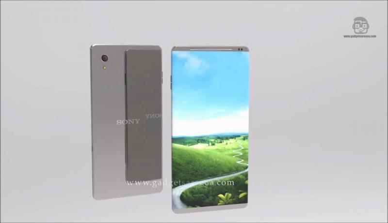 Xperia X Ultra đẹp ngất ngây với màn hình cong, viền cạnh siêu mỏng