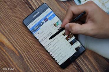 Bút S Pen của Samsung Galaxy Note FE nhiều tính năng đáng kinh ngạc
