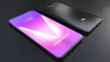 Vô cùng ấn tượng với bản concept LG V40