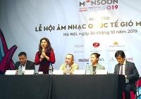 Lễ hội âm nhạc quốc tế Gió mùa: Thêm một thương hiệu âm nhạc  của Thủ đô
