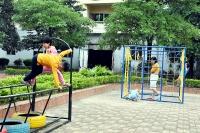 Tạo sân chơi cho con em công nhân