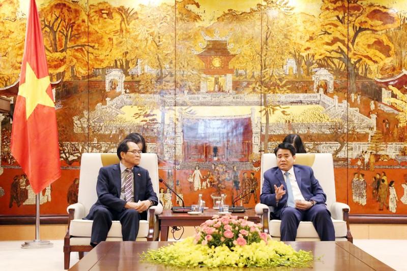 Hà Nội tăng cường hợp tác với Hàn Quốc