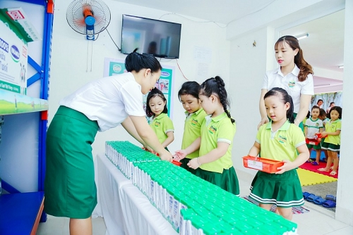 Sữa học đường -  tầm nhìn bảo vệ môi trường