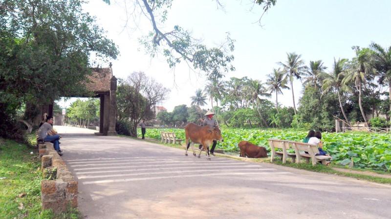 Gỡ khó cho du lịch làng cổ Đường Lâm