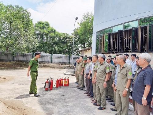 Chủ động phòng cháy trong mùa hanh khô
