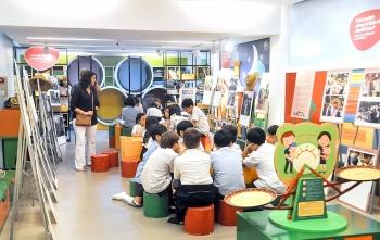 Gắn di sản văn hóa với học đường