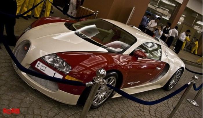 Siêu xe với biển số giá 320 tỷ đồng đắt nhất hành tinh