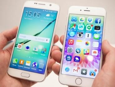 Điện thoại Android chiếm khách ngay trên sân nhà của iPhone