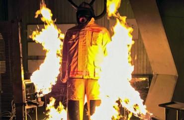 """""""Áo giáp"""" mới cho lính cứu hỏa"""
