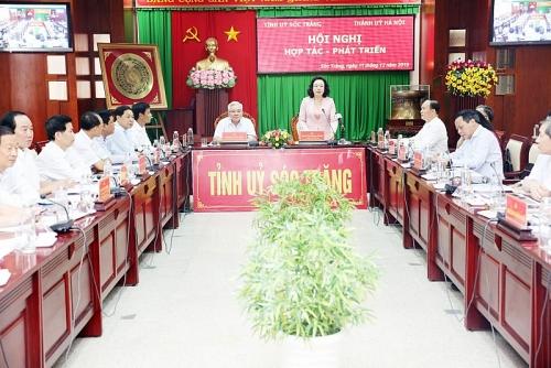 Hà Nội - Sóc Trăng: Chủ động hợp tác trên nhiều lĩnh vực
