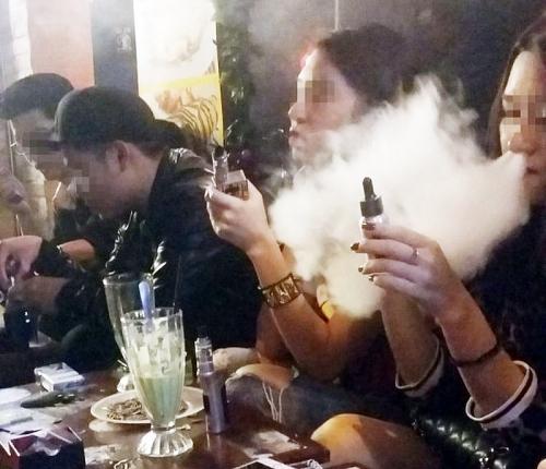 Sẽ cấm các loại thuốc lá điện tử