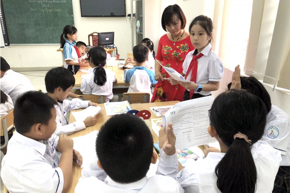 Nền tảng nâng cao chất lượng giáo dục Thủ đô