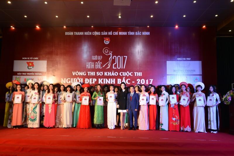 30 người đẹp lọt vòng chung kết 'Người đẹp Kinh Bắc'