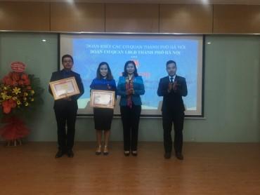 Tổng kết công tác Đoàn TNCS Hồ Chí Minh cơ quan LĐLĐ Thành phố Hà Nội năm 2017
