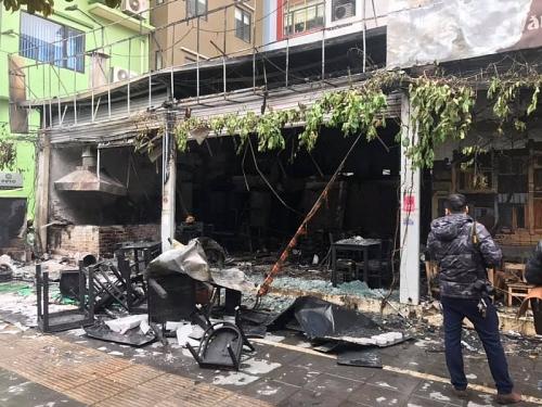 Cháy lớn tại một nhà hàng ở Hà Nội, nhiều tài sản bị thiêu rụi