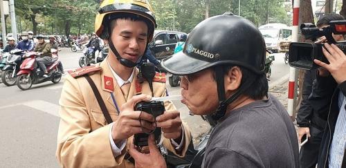 Hà Nội: Xử lý 84 tài xế có 'hơi men' sau 5 ngày tăng cường kiểm tra