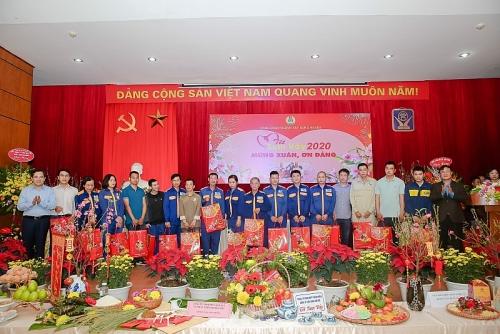 Ấm áp Tết sum vầy của công nhân viên chức, người lao động ngành Xây dựng Hà Nội