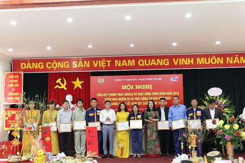 """Ấm áp """"Tết sum vầy"""" Công ty TNHH MTV Thoát nước Hà Nội"""
