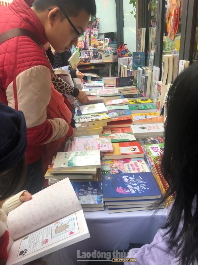 Phố Sách Xuân Canh Tý: Điểm đến văn hóa hấp dẫn của người dân Thủ đô