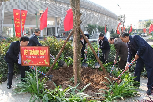 Huyện Hoài Đức hưởng ứng và phát động 'Tết trồng cây'