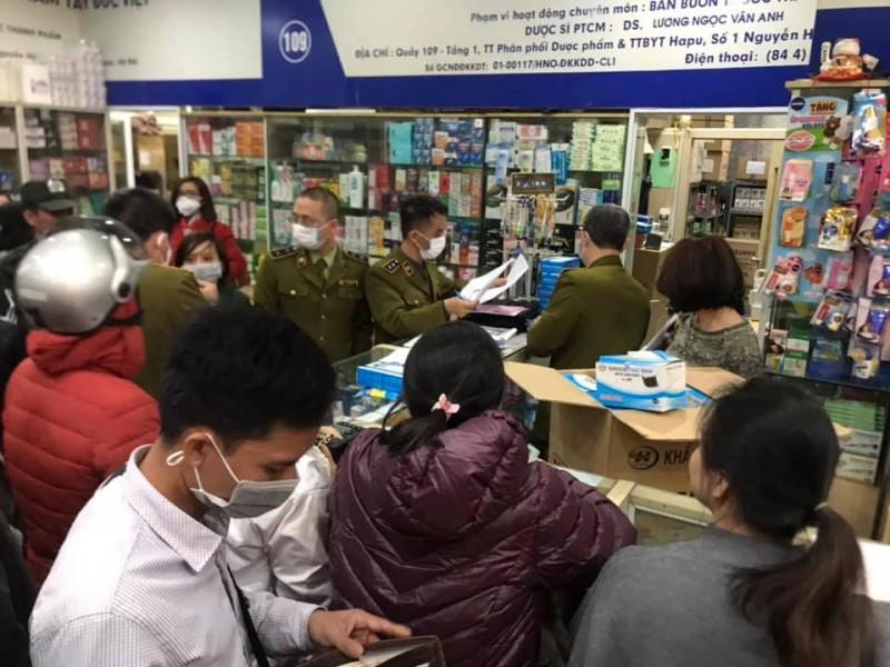 Hà Nội: Xử lý nghiêm các trường hợp găm hàng, 'thổi giá' khẩu trang y tế