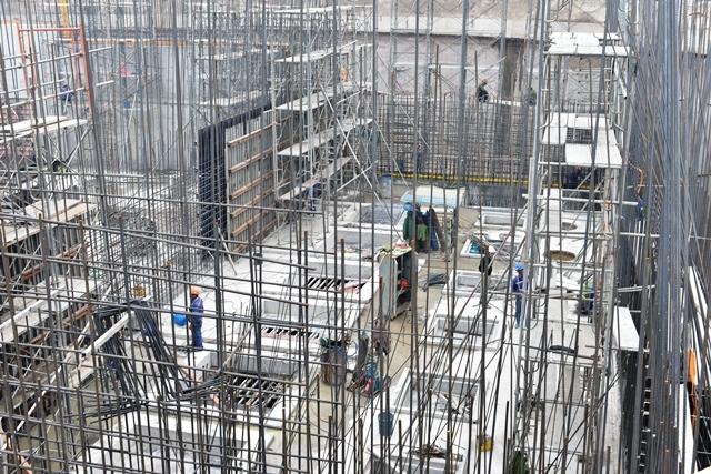 Đảm bảo đúng tiến độ xây dựng Dự án hệ thống xử lý nước thải Yên Xá
