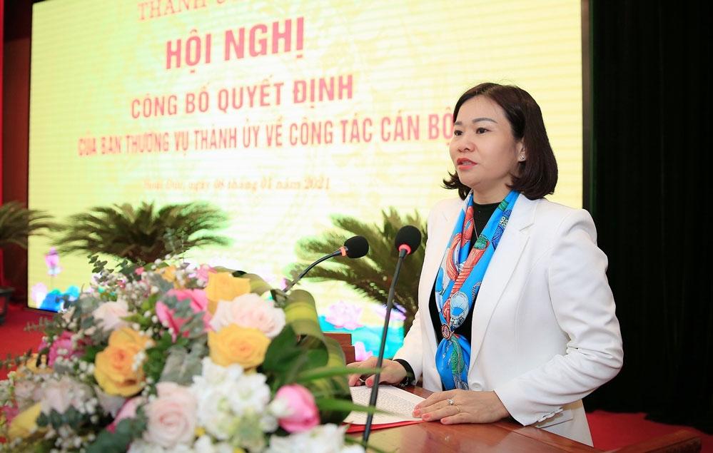 Điều động Phó Giám đốc Sở Nông nghiệp và Phát triển nông thôn làm Bí thư Huyện ủy Hoài Đức