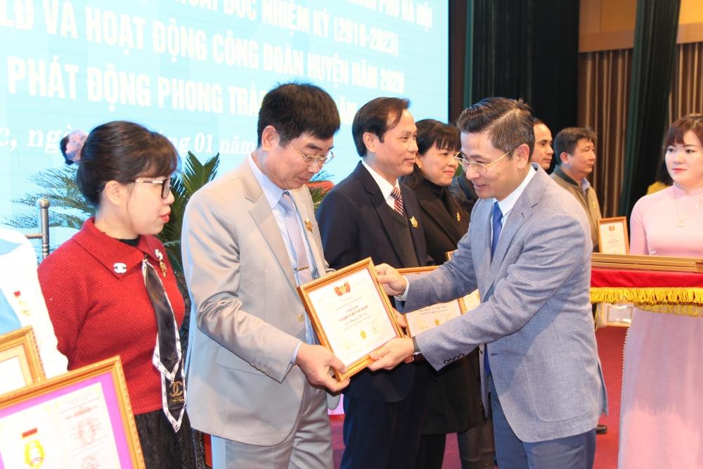 Công nhân, viên chức, lao động huyện Hoài Đức phấn đấu hoàn thành tốt nhiệm vụ
