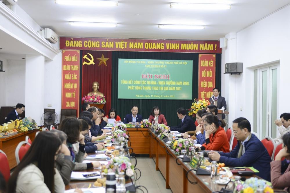 Hà Nội: Phát động thi đua trong năm 2021 tại cụm thi đua số 21