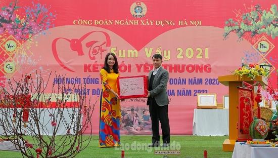 Ấm áp Tết sum vầy Tân Sửu 2021 ngành Xây dựng Hà Nội