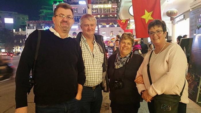 Du khách Quốc tế đón Tết Bính Thân 2016 tại Hà Nội