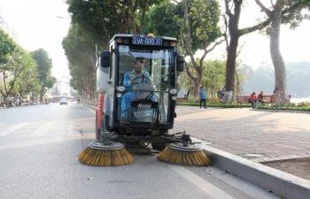 Tăng cường công tác tổng vệ sinh môi trường trên toàn Thành phố