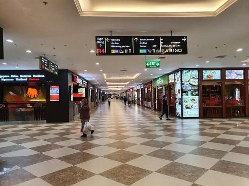 Áp lực từ dịch cúm, người dân Hà Nội ít đến các trung tâm thương mại