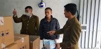 Hà Nội: Tạm giữ lô khẩu trang 100.000 chiếc trong ngôi biệt thự liền kề