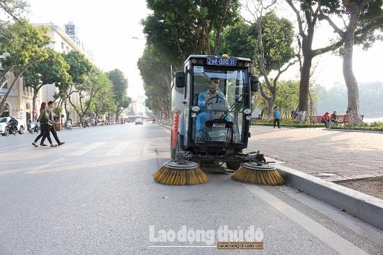 Đảm bảo vệ sinh môi trường Thủ đô luôn sạch, đẹp dịp Tết