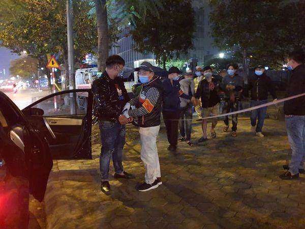 Hà Nội: Tổ công tác Y21/141 bắt giữ 4 đối tượng tàng trữ ma túy