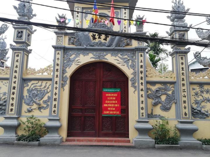 Đình chùa, di tích trên địa bàn huyện Hoài Đức