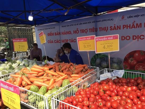 Hà Nội: Tạo điều kiện thuận lợi để thúc đẩy tiêu thụ nông sản