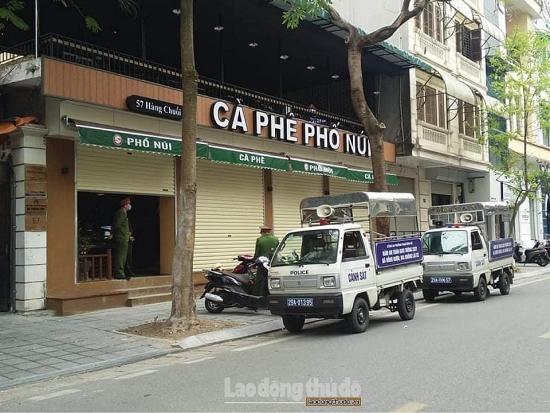 Hà Nội: Xử phạt hai quán cà phê kinh doanh trong mùa dịch