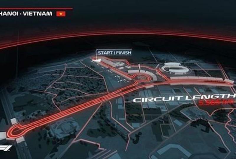 Hà Nội khởi động dự án xây dựng trường đua F1